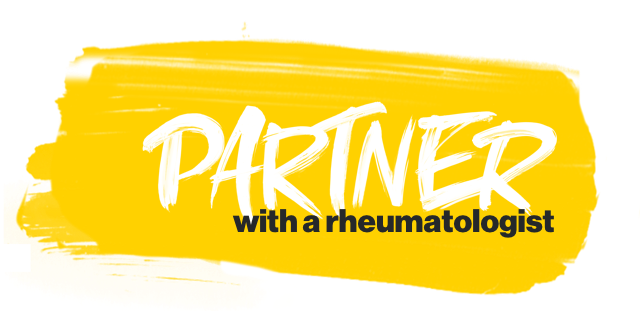 Partner with a rheumatologist
